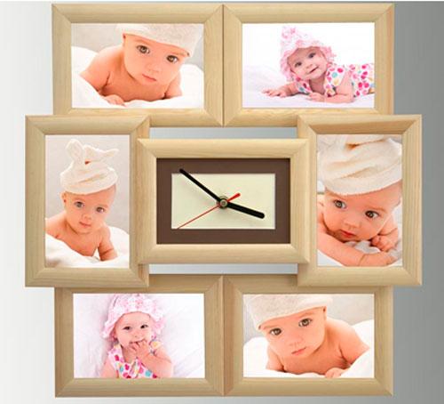 Часы с фотографией своими руками
