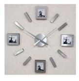 Часы под фотографии, клеящиеся на стену поэлементно