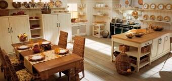 Создаем красивый деревенский стиль в отделке, оформление кухни и стены в деревенском стиле