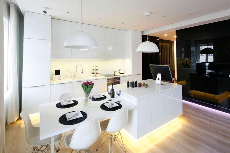 Реализация по дизайн проекту Кухня