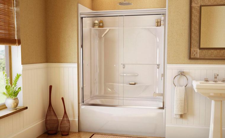 Выбираем ванны под душ, устройство для ванны