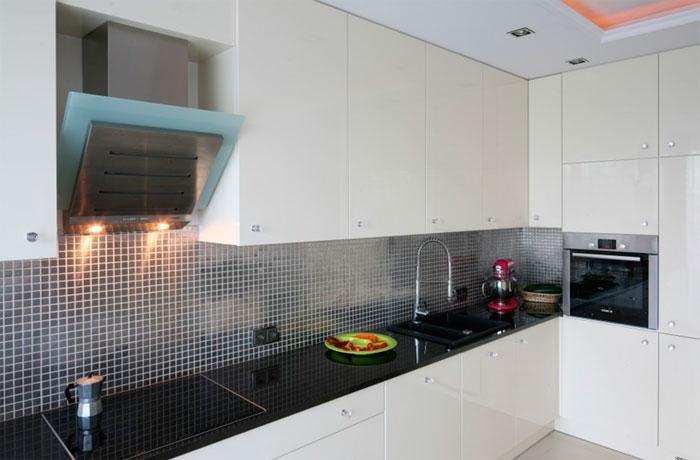 Мозаика для фартука современной кухни