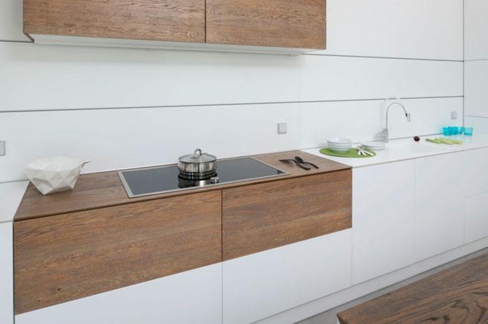Композиты на фартук для кухни, современный стиль