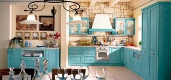 Малогабаритные кухни в стиле прованс в квартире, кухня гостиная прованс