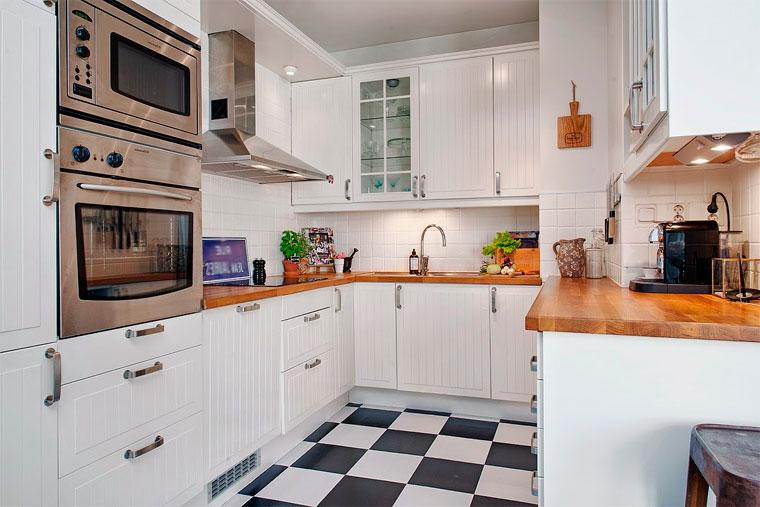Какого цвета лучше пол на кухне