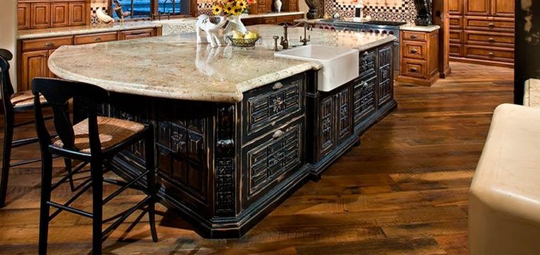 Деревянный пол на кухне – как выбрать хорошую древесину