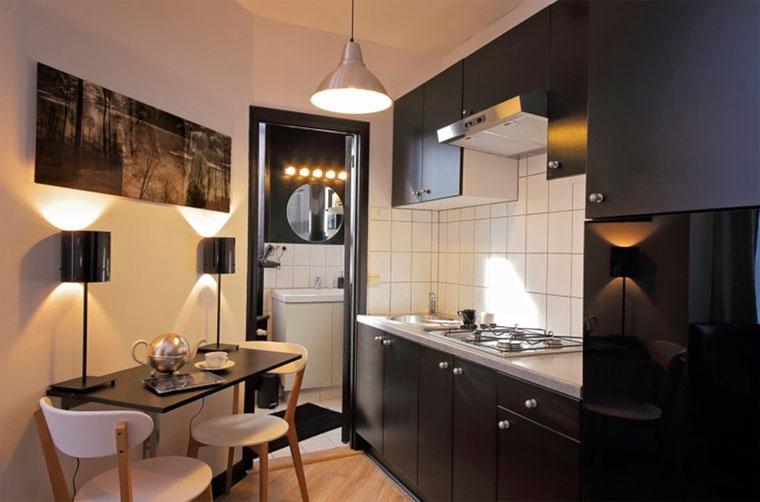 дизайн кухни и расположение мебели