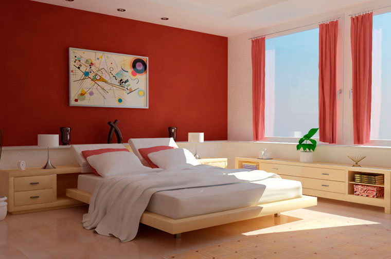 Естественное освещение спальни – куда должны выходить окна спальни?