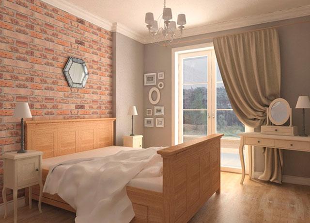 такой интерьер подойдет для маленькой спальни прованс