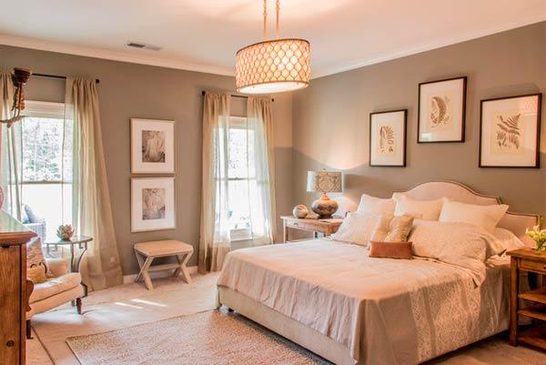 Спальня в провансальском стиле - интерьер полный тепла
