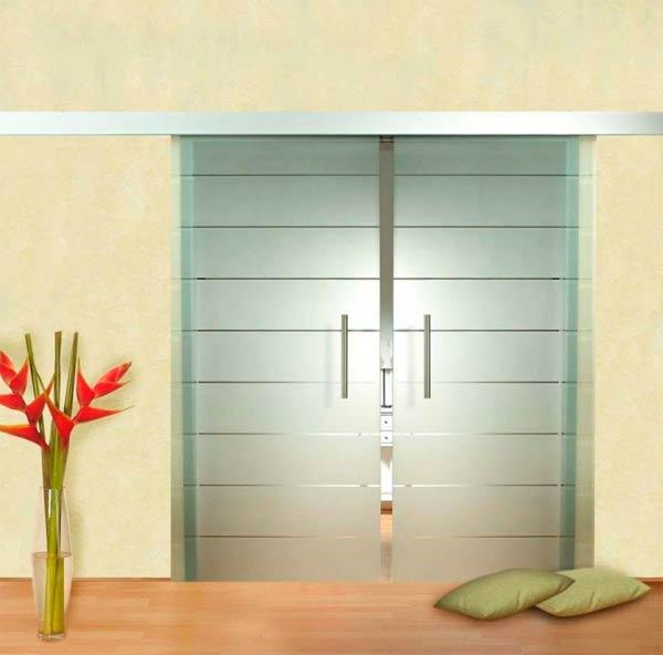 Декоративные бесцветные узорчатые стекла для дверей