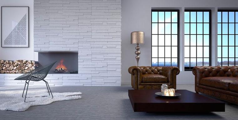 Декоративный отделочный камень для стен внутри квартиры
