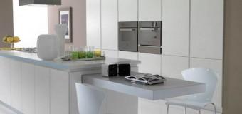Выдвижная кухонная столешница, кухонная тумба с выдвижной столешницей