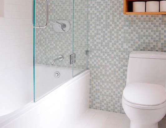 Выбираем размер плитки для маленькой ванной комнаты