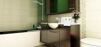 Отделка ванной комнаты с небольшой площадью, душ в маленькую ванную комнату