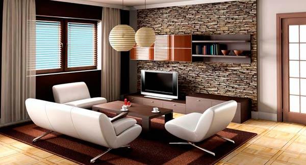 Интерьеры однокомнатных квартир в современном стиле фото