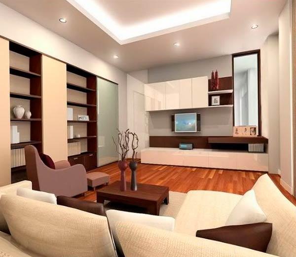 Дизайн современного зала – актуальные материалы