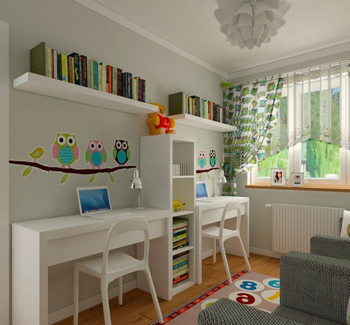 Комната для ребенка школьника