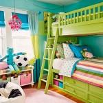 Зеленая детская для девочки