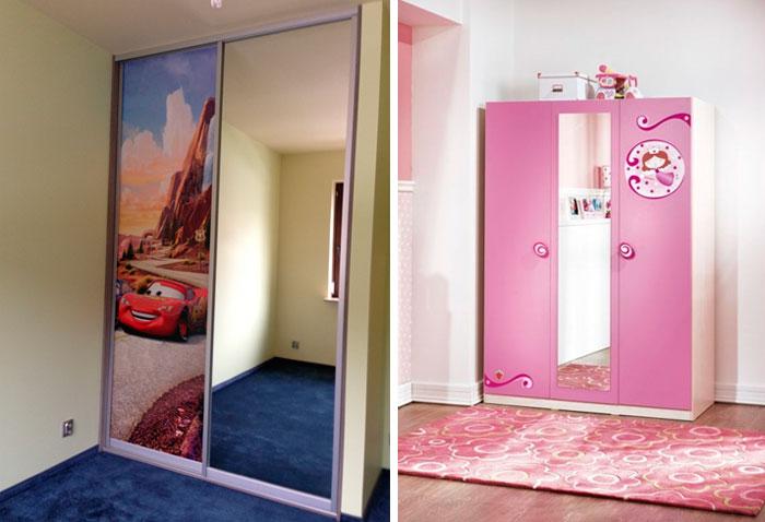 Шкафы в детскую комнату
