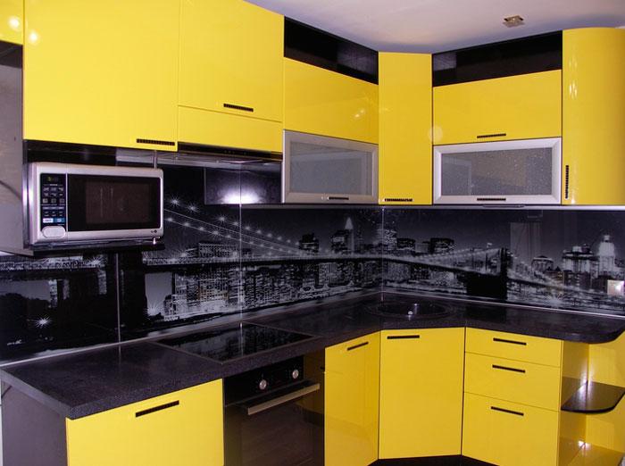 Пластиковая панель для кухни, фартук с рисунком