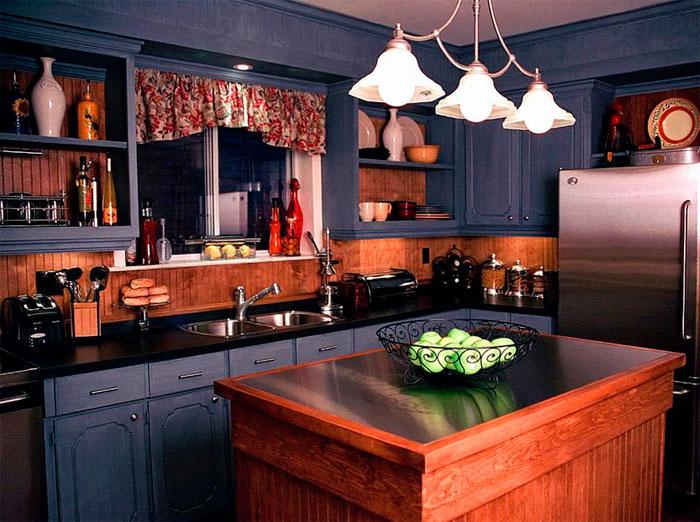 Соответствие цветов в интерьере кухни