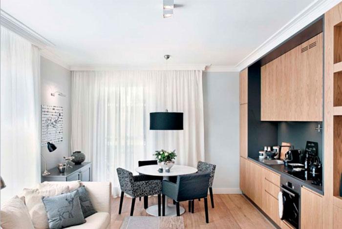 Гостиные в малогабаритных квартирах