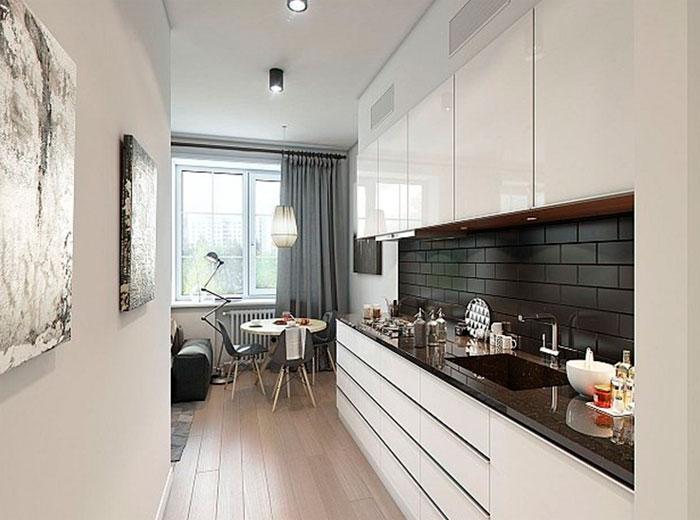 Бытовая техника в кухне-гостиной должна быть тихой