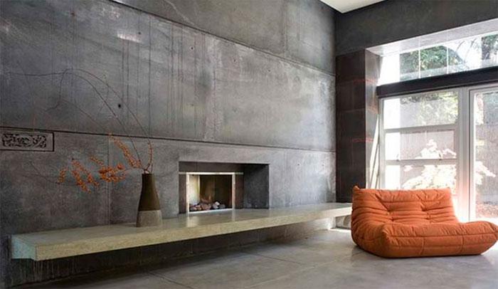 Декоративная отделка под бетон