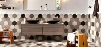 Керамическая плитка сотами для ванной – модные тренды 2016