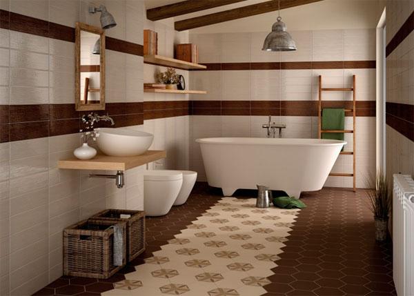 Плитка-соты для ванной