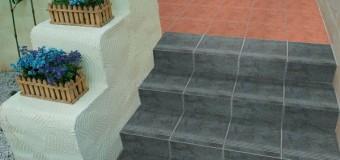 Ступени для лестницы из керамогранита