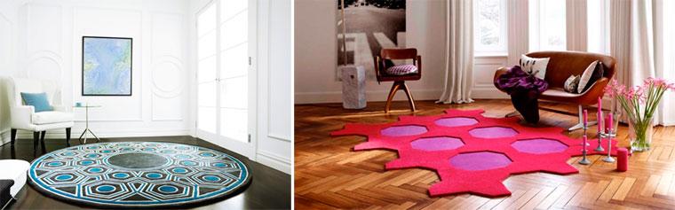 Размеры и формы ковров