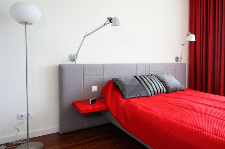 Шторы в красную спальню