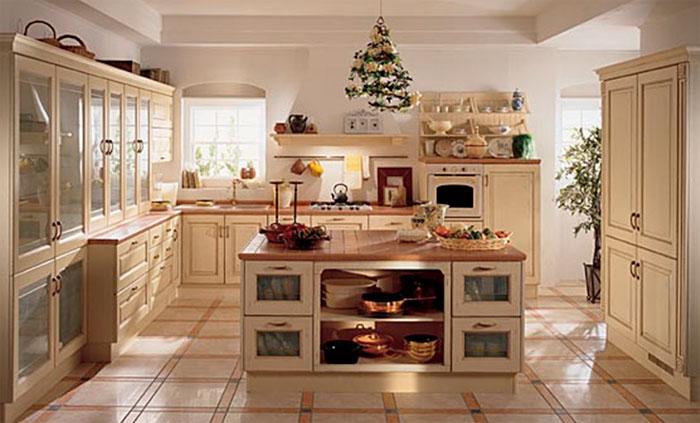 Дизайн гостиной кухня классика