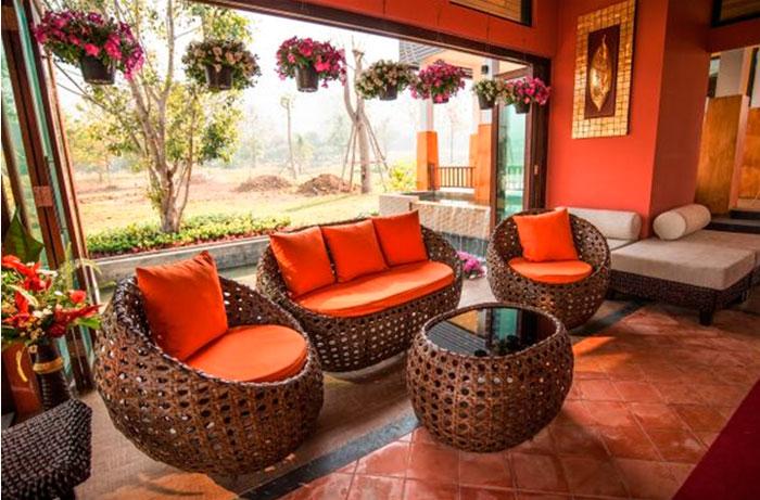 Основные преимущества мебели из ротанга