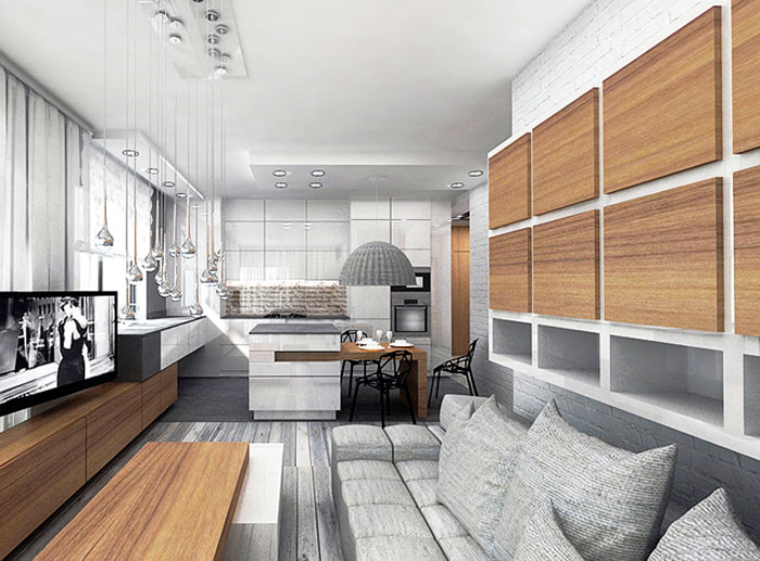 Мебель в стиле минимализм может быть уютной