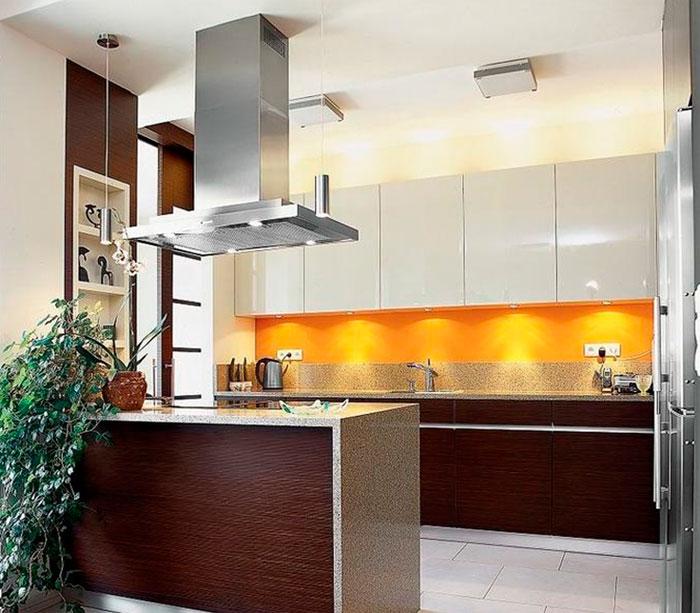 Какие цвета можно использовать на кухне