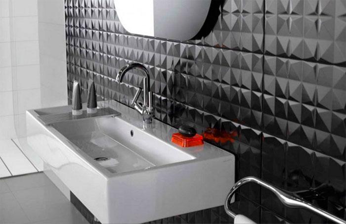 3d плитка в ванную