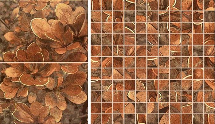 Керамическая мозаика на фартук