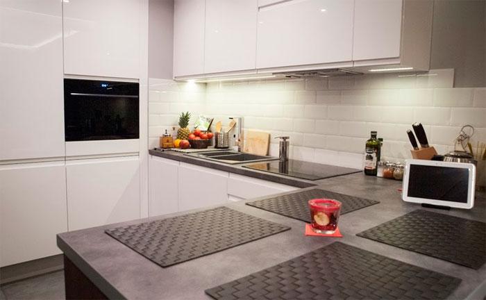 фартук керамический для кухни в стиле ретро