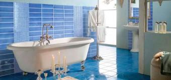 Цвета кафеля для ванной комнаты