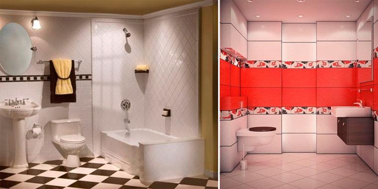 Плитка керамическая для пола в ванной комнате: что выбрать