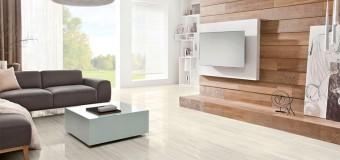 Как выбрать пол для гостиной из керамогранита, плитки или дерева