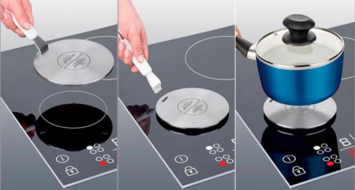 Диск-адаптер для индукционной плиты