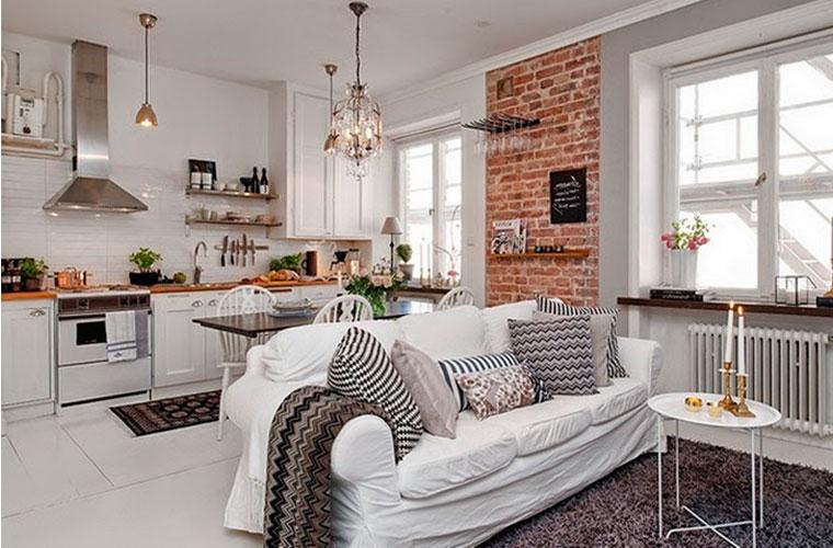 Малогабаритная квартира в скандинавском стиле – особенности дизайна