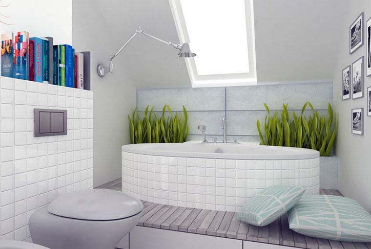 Ванная комната в скандинавском стиле