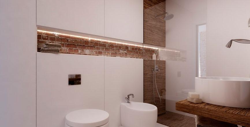 Скандинавский стиль в ванной комнате – естественно и элегантно