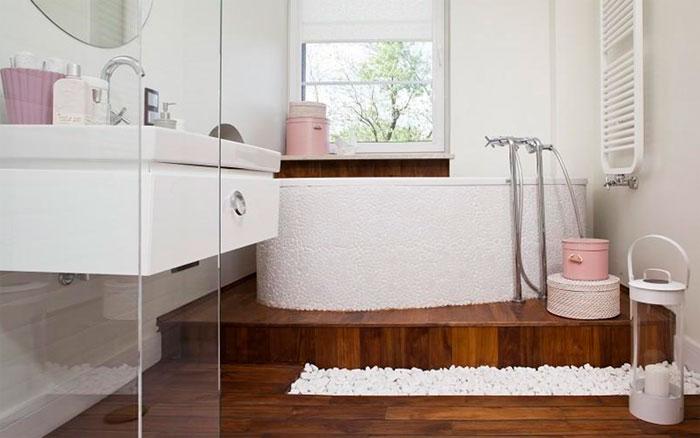 Дизайн ванны в скандинавском стиле