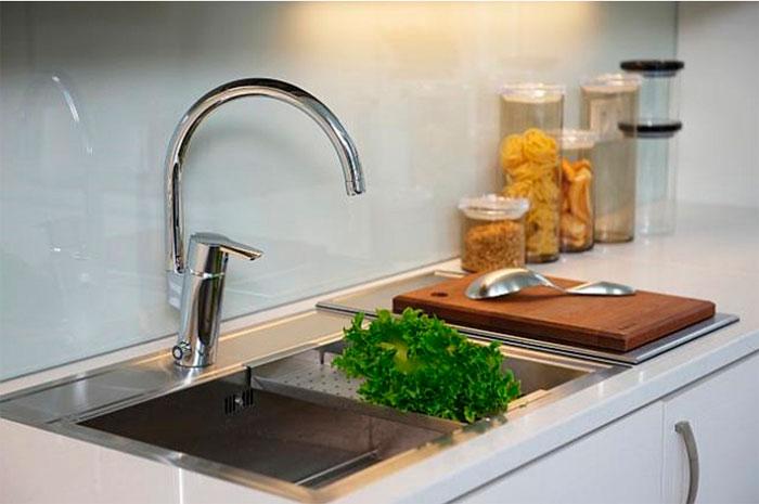 Однорычажные смесители для кухни